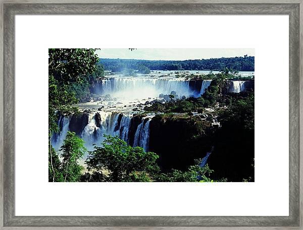 Iguacu Waterfalls Framed Print