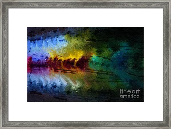 Il Fuoco Di Musica Framed Print