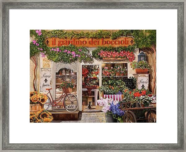 Il Giardino Dei Boccioli Framed Print