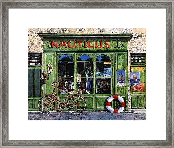 Il Nautilus Framed Print