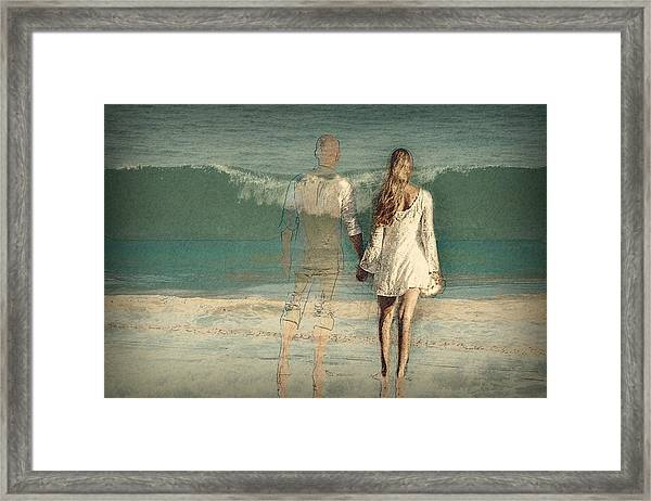 I'll Always Be Beside You Framed Print
