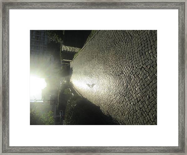 Illuminated Inverted Path Framed Print