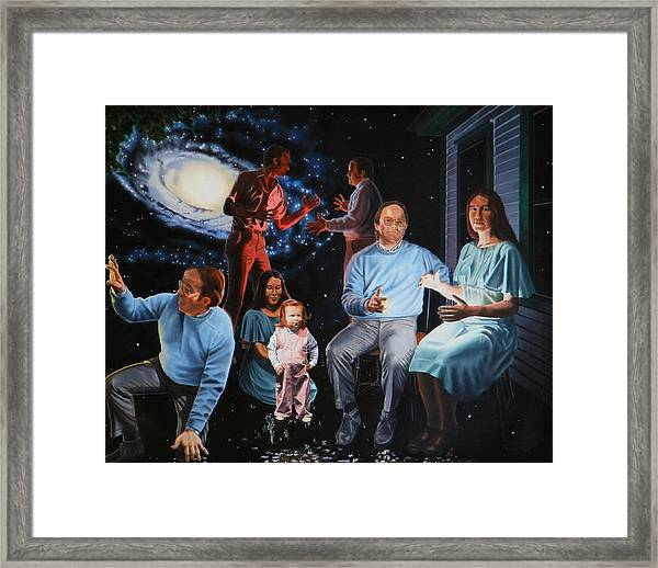 Illumination Beyond Ursa Major Framed Print