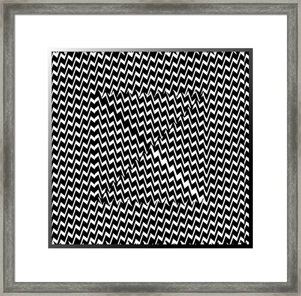 Illusion Exemplified Framed Print