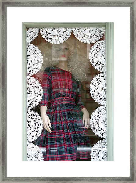 I'm Coming Out Of Here Just Watch Framed Print by Jez C Self