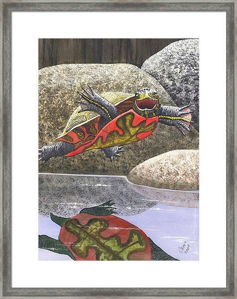 Im Flying Framed Print