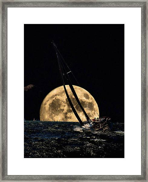 I'm Getting Closer To My Home Framed Print