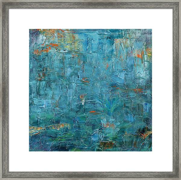 Imagination Comes From Within Framed Print