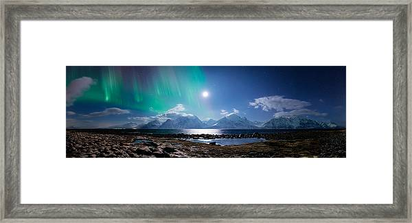 Imagine Auroras Framed Print