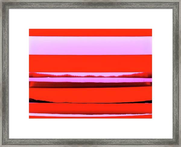 Imagined Landscape No. 30 Framed Print