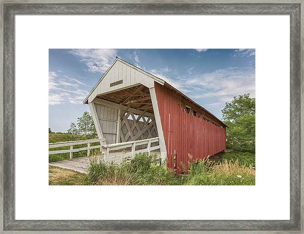 Imes Covered Bridge Framed Print