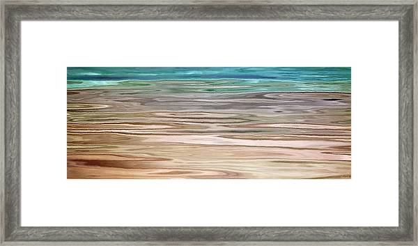 Immersed - Abstract Art Framed Print