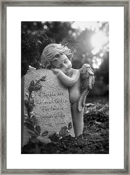 Immortality Framed Print