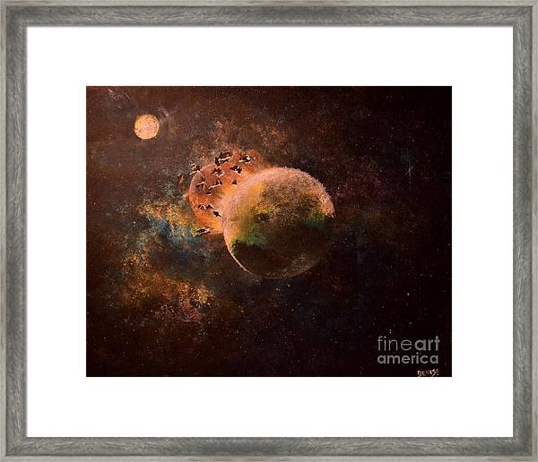 Impact Framed Print