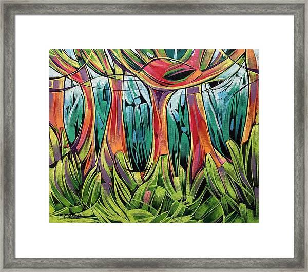 Impassable Forest  Framed Print