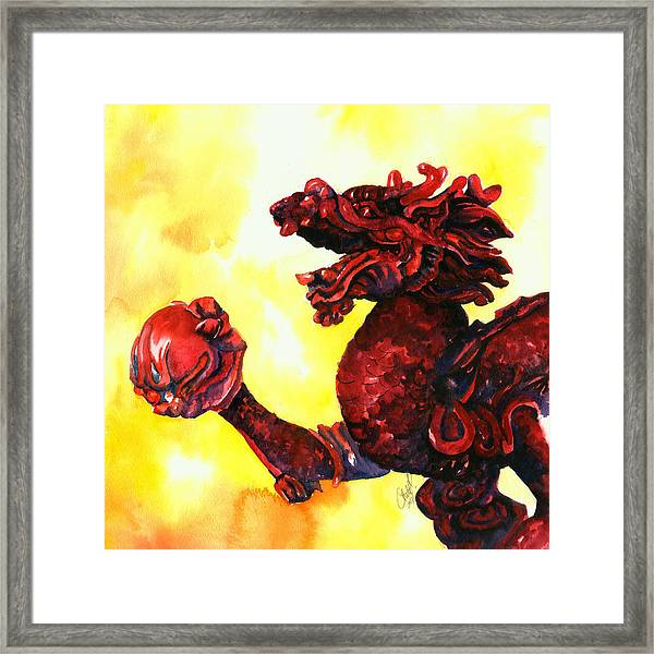 Imperial Dragon Framed Print