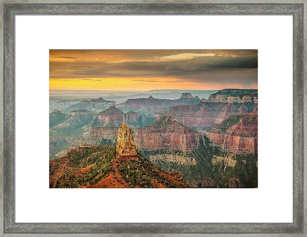 Imperial Point Grand Canyon Framed Print
