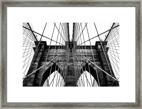 Imposing Arches Framed Print