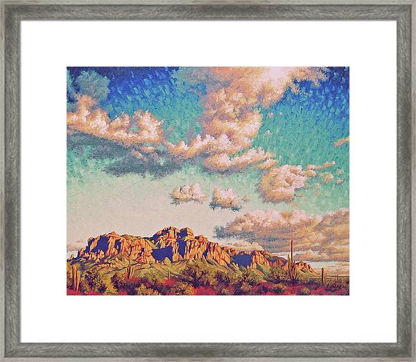 Impression Afternoon Framed Print