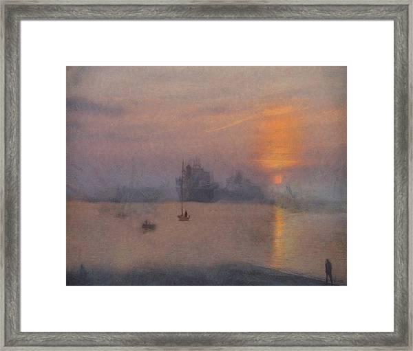 Impression Solent Leviathans Framed Print