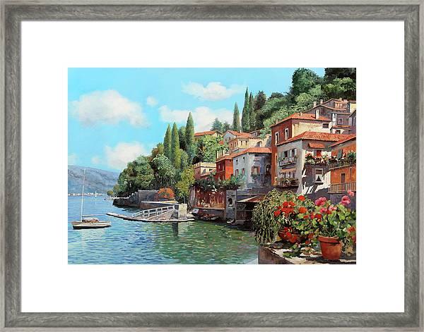 Impressioni Del Lago Framed Print