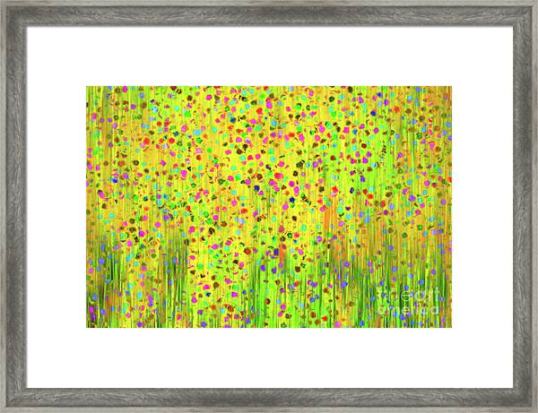 Impressionist Meadow Framed Print