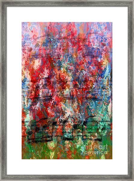 Impressionistic Interlude 2 Framed Print