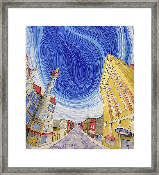 Framed Print featuring the painting Impressions Of Sedalia by Scott Kirby