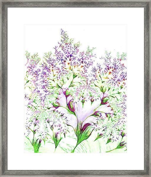 Impressions Of Spring Framed Print
