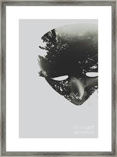 In Creation Of Thought  Framed Print