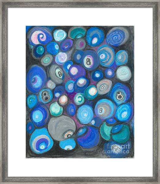 In Front Of The 8 Ball Framed Print