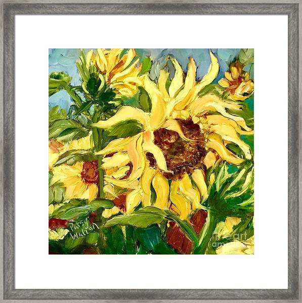 In Full Bloom Framed Print