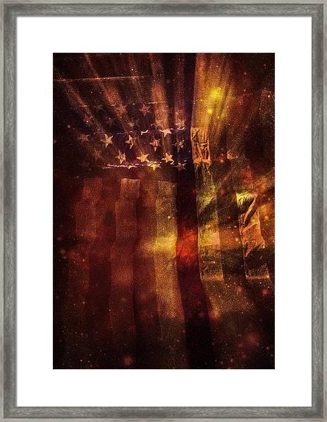 In Full Glory Framed Print