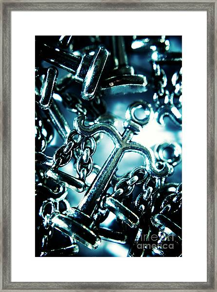 In Liberty Of Justice Framed Print