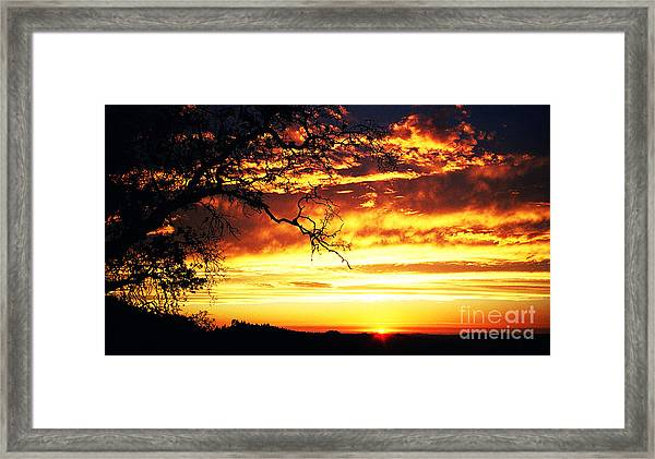 In Memory Of Framed Print by JoAnn SkyWatcher