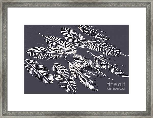 In Metal Nests Framed Print