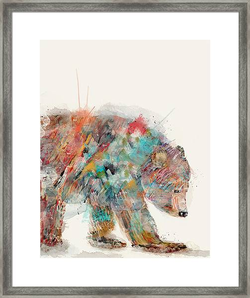 In Nature Bear Framed Print