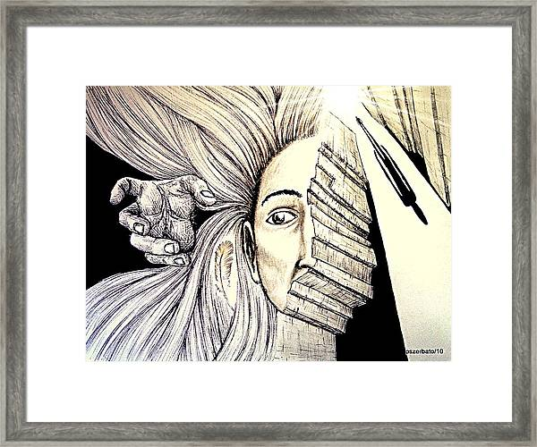 In Search Of The Soul Framed Print