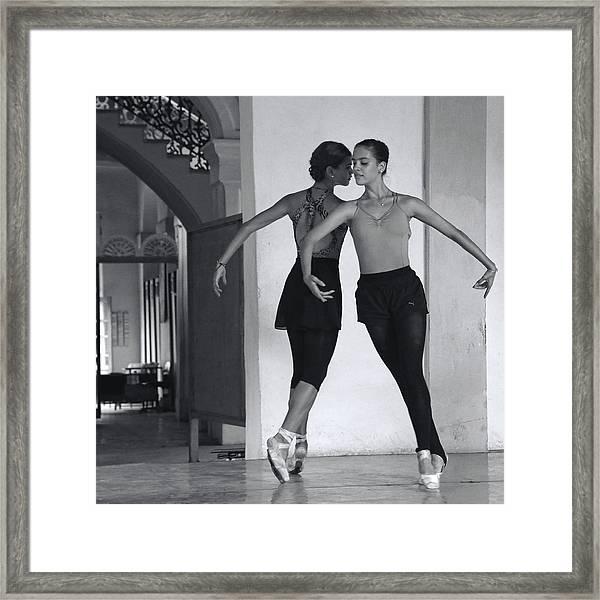In Sync Framed Print