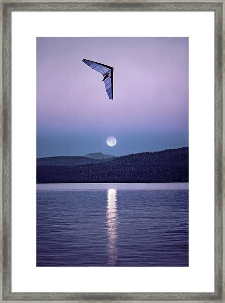 In The Air Tonight Framed Print