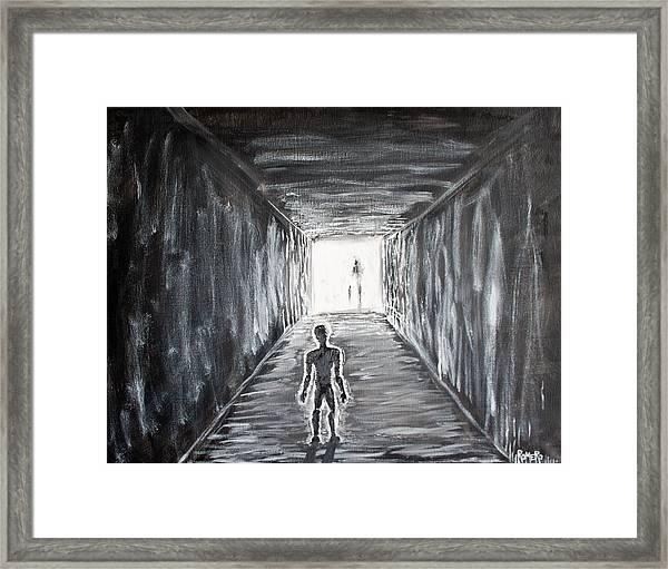 In The Light Of The Living Framed Print