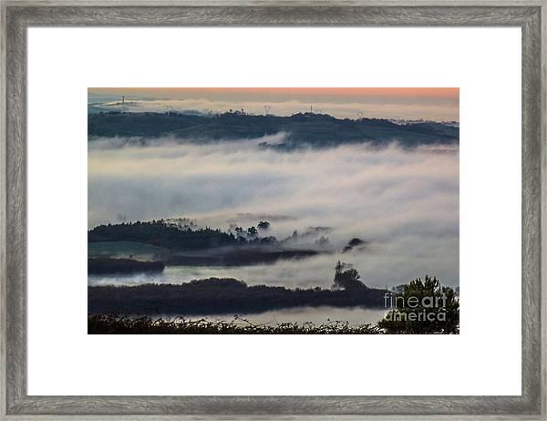 In The Mist 2 Framed Print