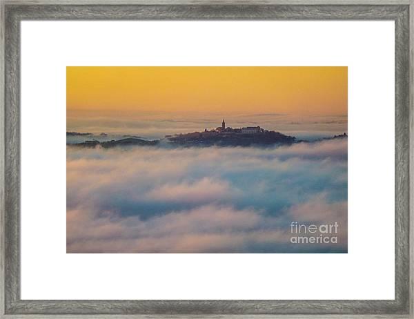 In The Mist 3 Framed Print