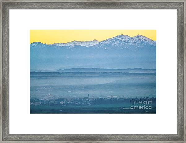 In The Mist 4 Framed Print