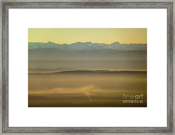 In The Mist 5 Framed Print