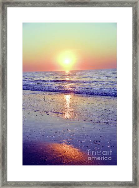 In The Morning Light Everything Is Alright Framed Print