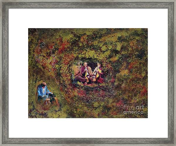 In The Name Of Music Framed Print