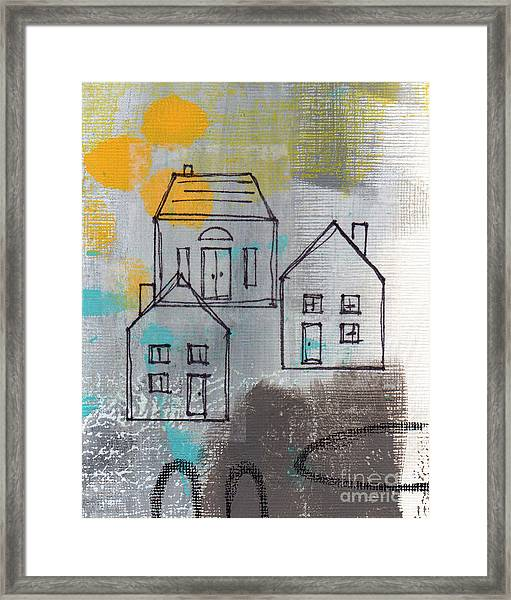 In The Neighborhood Framed Print