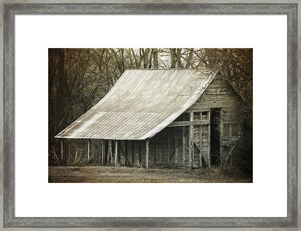 In The Niche Of Time Framed Print