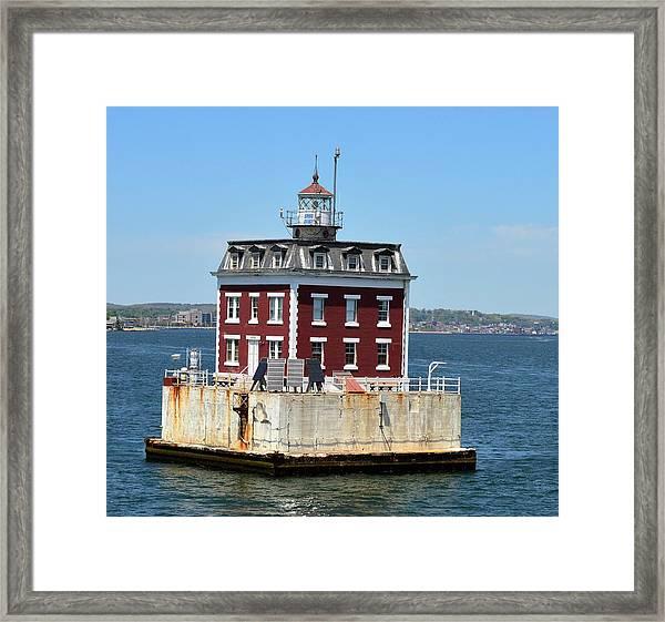 In The Ocean Framed Print